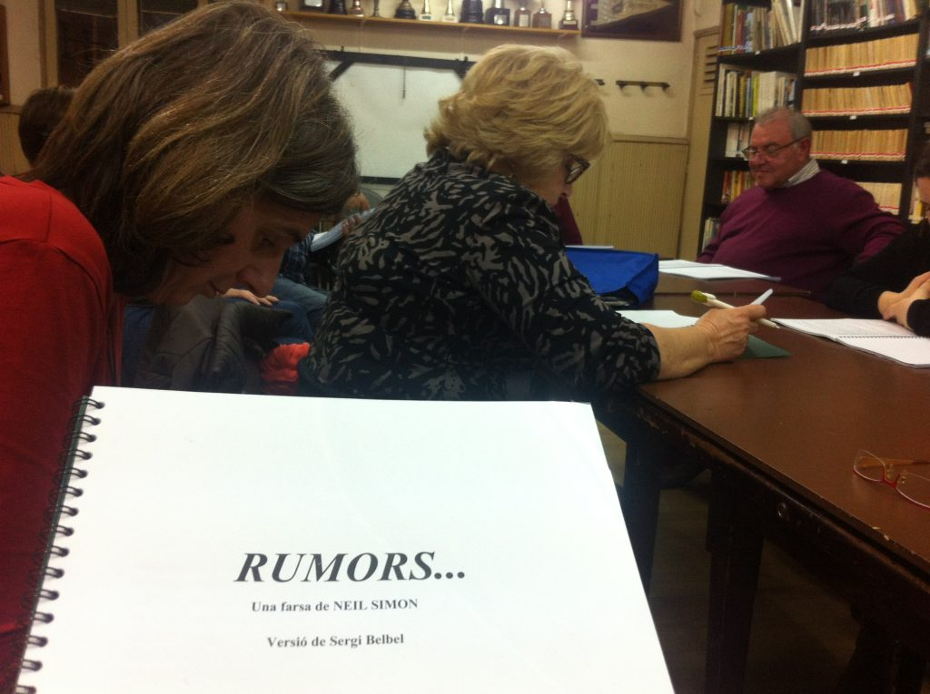 text lectura rumors