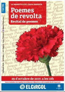 """La Dramàtica ens porta """"Poemes de Revolta"""
