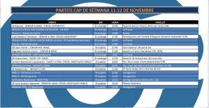 L'Agenda (11-12 de novembre)