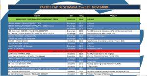 L'Agenda 24-26 de novembre
