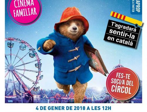 CINEMA: PADDINGTON 2: Especial Cinemaprop Familiar