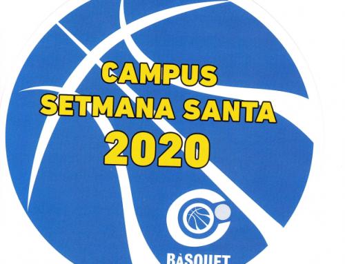 Campus de Setmana Santa 2020 Bàsquet Círcol