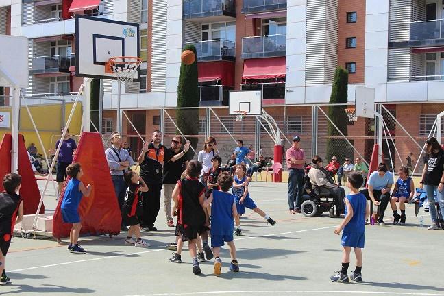 Escola de bàsquet - Mireia