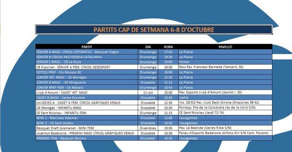 Agenda 6-8 oct