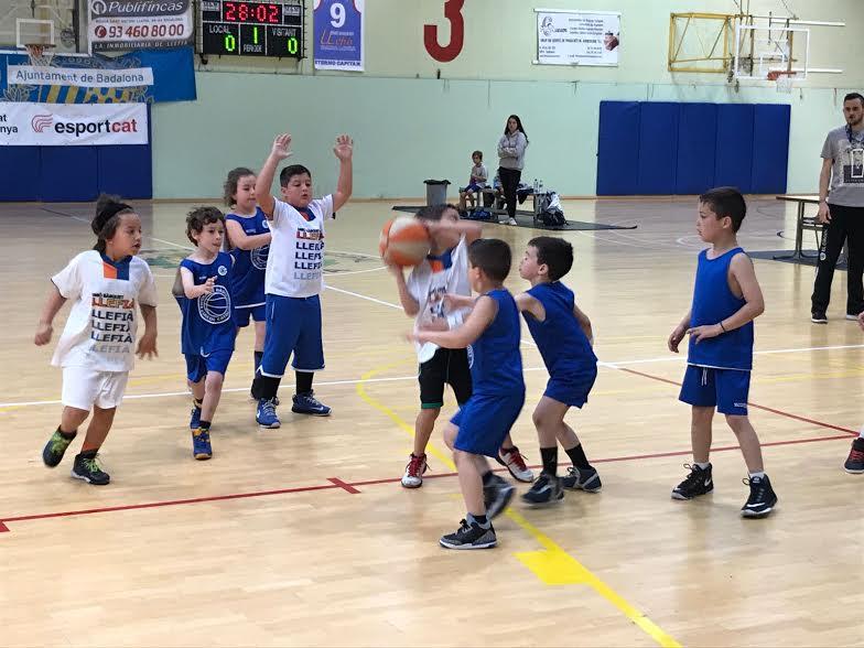 Escola de bàsquet Trobada f
