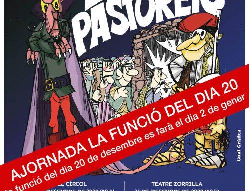 Ajornada l'estrena de Els Pastorets